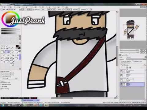 [Speed Art #2] (Minecraft) FutureCraftTV \