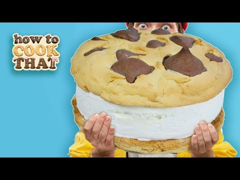 GIANT Ice-cream Sandwich Stop Motion CHALLENGE