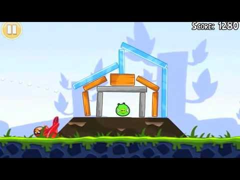 Video 1 de Angry Birds: Angry Birds Trucos (Niveles 1 al 6)