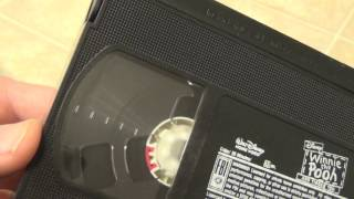 In this video, I show you guys an interesting thing about a Disney VHS tape. I think it might be an error!