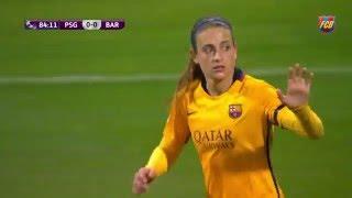 Video [HIGHLIGHTS] FUTBOL FEM (Uefa Women's Champions): PSG-FC Barcelona (1-0) MP3, 3GP, MP4, WEBM, AVI, FLV Juni 2018