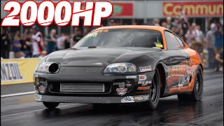 2000HP Supra on 80PSI - Quickest Manual Car on the Planet! (208MPH in 7.00 Sec) by  That Racing Channel