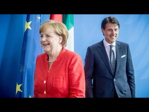 Merkel und Comte für EU-Solidarität bei Migrationsf ...
