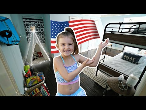 MY NEW USA BEDROOM TOUR 😀 SuPeR SiEnNa