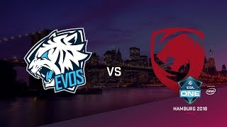 Tigers vs EVOS, ESL Closed Quals NA, bo3, game 2 [Adekvat & Lost]