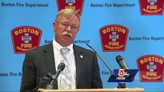 An improperly installed emergency generator is being blamed in a massive blaze that gutted a six-story residential building that was under construction in Dorchester in June, officials said.Subscribe to WCVB on YouTube for more: http://bit.ly/2526UpSGet more Boston news: http://www.wcvb.comLike us: https://www.facebook.com/wcvb5Follow us: https://twitter.com/WCVBGoogle+: https://plus.google.com/+wcvb