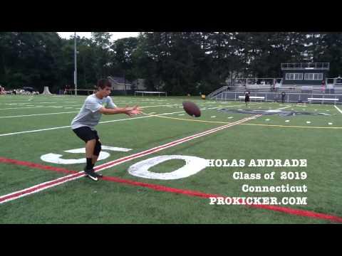 Nicholas Andrade, Prokicker.com Punter, Class of 2019