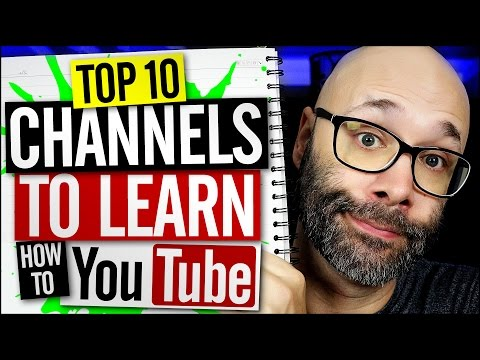 Learn How To Grow On YouTube With These 10 YouTube Help Channels