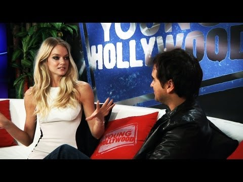 Lindsay Ellingson - It's a sunshiney day at the Young Hollywood Studio, because a Victoria's Secret Angel has visited us! Lindsay Ellingson graces our couch to talk about VS's G...
