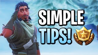3 Simple Tips To Help You Improve In Fortnite! (Season 8)