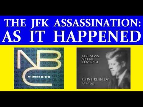 NBC-TV COVERAGE OF JFK