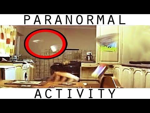 incredibili fenomeni poltergeist nella cucina di un'abitazione