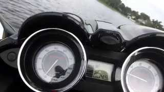 9. 2014 Yamaha FZS SVHO top speed