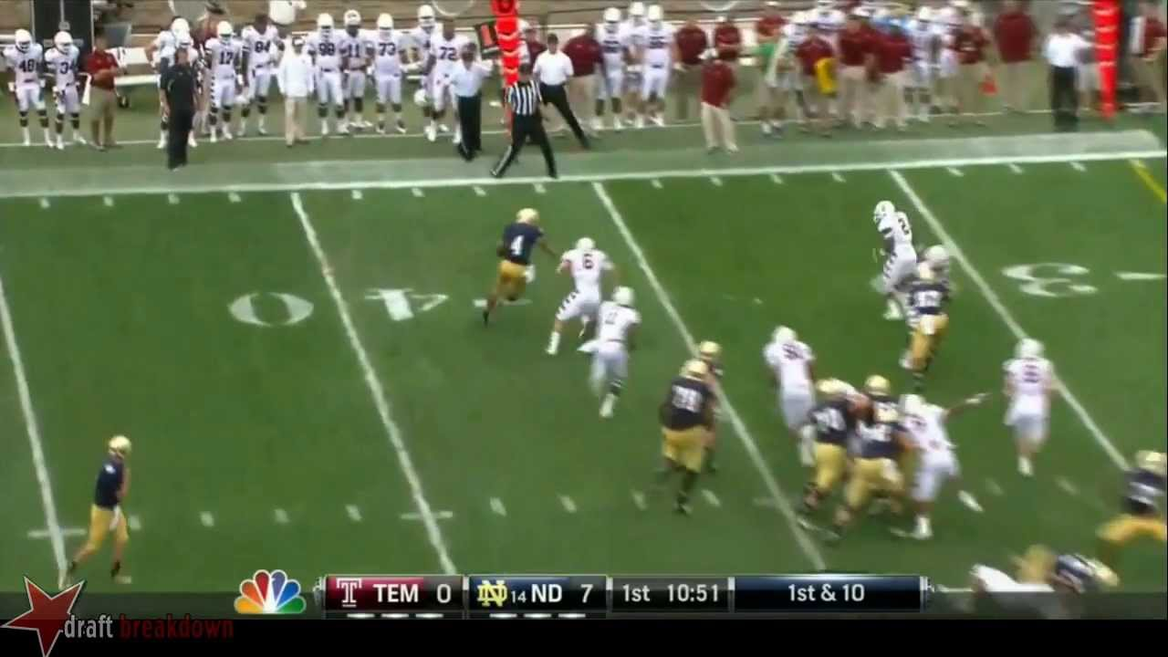 Troy Niklas vs Temple (2013)