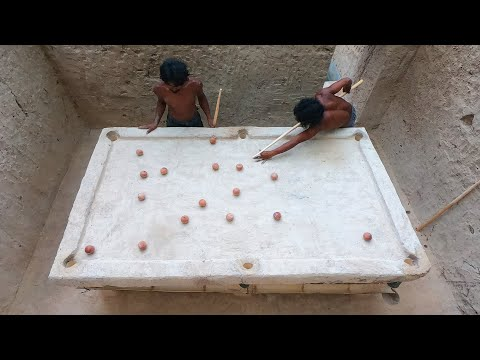 Unbelievable Creative ! Dig Ground To Build Underground House With Swimming Pool And Snooker