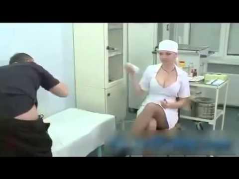 Cười vỡ bụng với nữ y tá ngực cực khủng