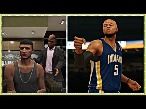 NBA 2K14 Next Gen My Career – Gay Barber Messed Up Cams Haircut | TWO CRAZY 360 DUNKS !