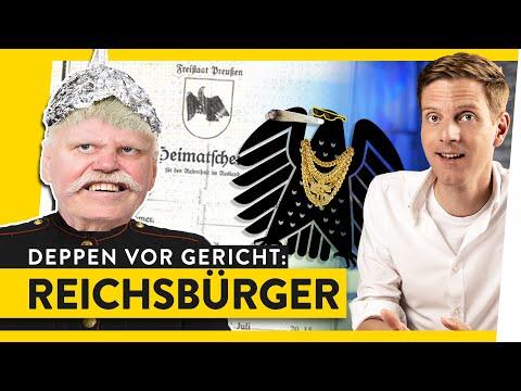 Das Dümmste aus den Reichsbürger-Akten: Verschwörung Kompakt