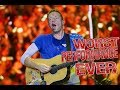 Coldplay - WORST PERFORMANCE EVER - Something Just Like This - SHREDS