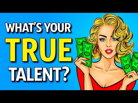 What's Your Hidden Talent? (Personality Test)