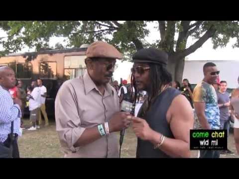 come chat wid mi: Grace Jamaican Jerk Festival 2013 Backstage Access Part 2