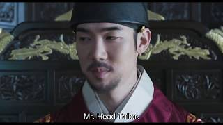 [Eng Sub] Royal Tailor - Yoo Yeon Seok as the newly appointed King scene
