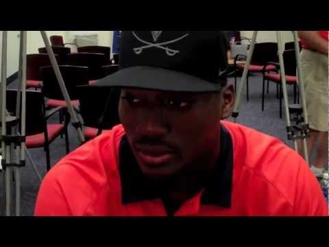 Eli Harold Interview 9/4/2012 video.