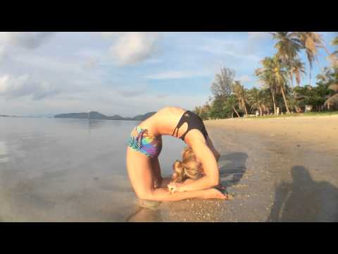 Yoga in Koh Samui: Kapotasana with Kino video