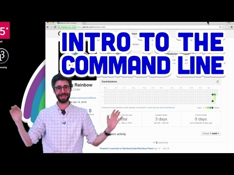 1.5: Intro to the Command Line – Git and GitHub for Poets