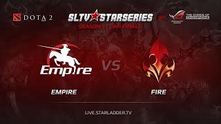 Empire vs Fire, game 1