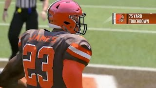 Madden 17 Gamer Drafts LeBron James As Quarterback For Cleveland Browns by Obsev Sports