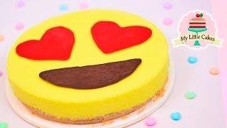 NO OVEN EMOJI CHEESECAKE | MY LITTLE CAKES