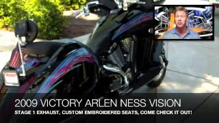 4. 2009 VICTORY ARLEN NESS VISION