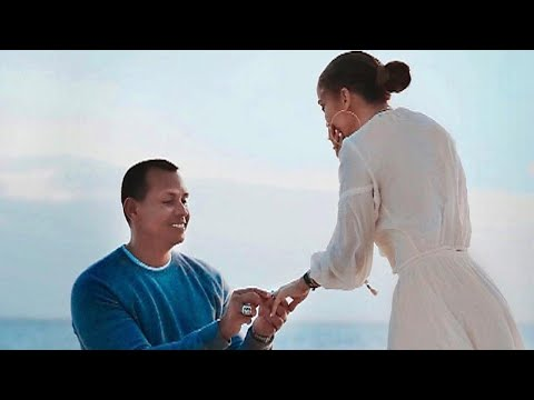 Jennifer Lopez and Alex Rodriguez Share Stunning New Engagement Pics