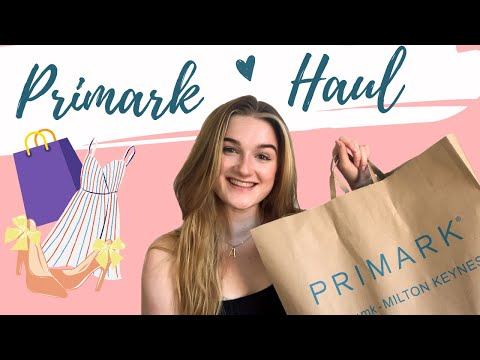 PRIMARK HAUL August 2020 | TRY ON HAUL Summer Outfits