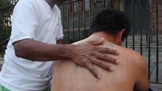Head Massage gives relief from stress, sholder and back massage relief from pain.