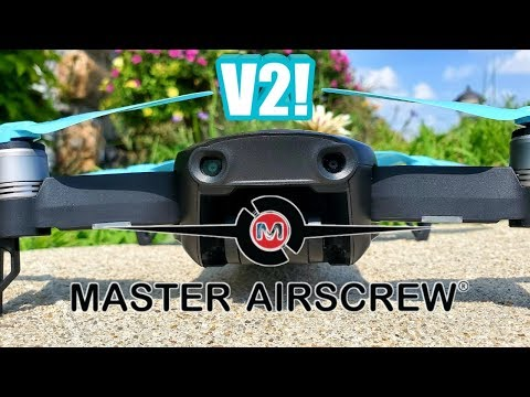 Dji Mavic Air Master Airscrew Stealth Props (V2) Are they Better?