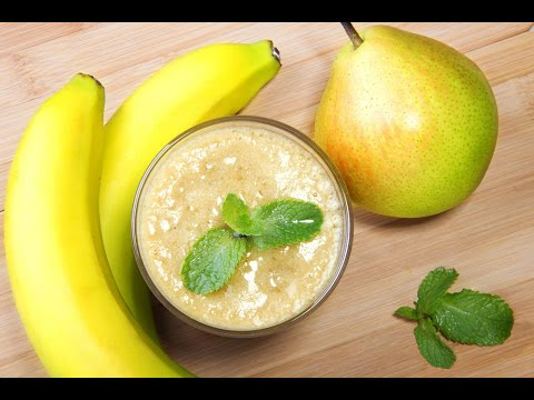 Pear and Banana smoothie