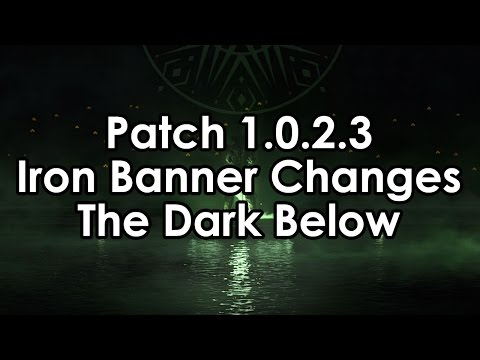 changes - A bit of a news medley for you guys today. We'll cover some loose ends from the world of Destiny news from over the past week, including the most recent patch, changes coming to the Iron Banner...