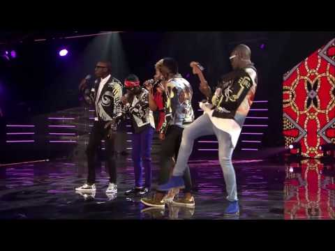 Yemi Alade and Sauti Sol perform Africa at the MTV Africa Music Awards