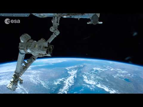 europe - This timelapse video shows two passes over Europe taken by ESA astronaut Alexander Gerst as he flew overhead on the International Space Station at around 400 km altitude. The International...