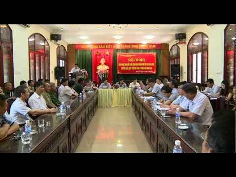 Hội nghị giao ban, trao đổi giữa lãnh đạo Thành phố với các già làng trưởng bản chức sắc tôn giáo 6 tháng đầu năm 2015