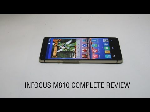 Infocus M810 review with camera samples, gaming, heat test