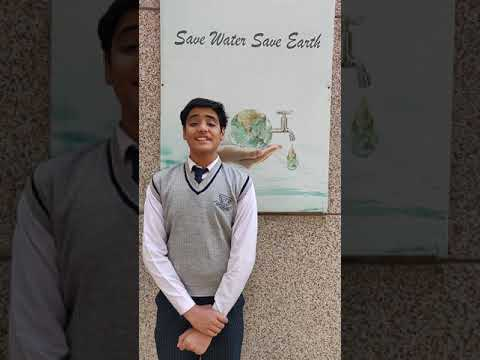 Save Water-English