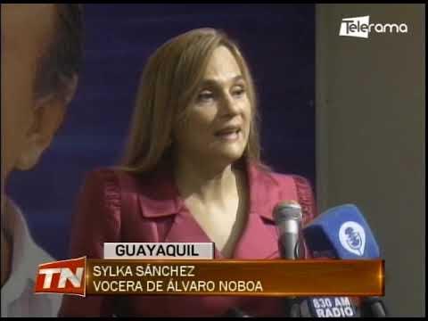 Sylka Sánchez insiste en que la candidatura de Álvaro Noboa es legal