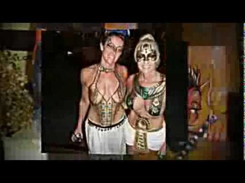 2013 Best Fantasy Fest Body Painting on Topless and Nude Women