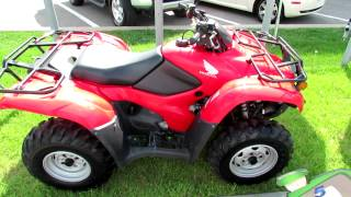 7. 2012 Honda Fourtrax AT TRX420PG Canadian Trail Edition - All Terrain Vehicle ATV