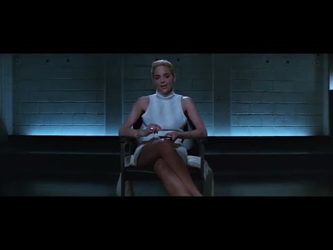 Sharon Stone Iconic Basic Instinct Cross Legs Has Infected By The Phenomenon! (Blurred Blue)