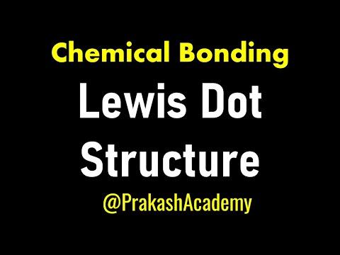 Organische Chemie Einführung Lewis Punktstruktur Konzepte