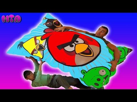 ✔ Воздушные шарики ✔ Воздушный матрац DIY с Шариками делаем сами ✔Батут ✔Развлечение для детей (видео)